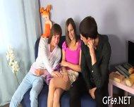 Interracial Threesome With Virgin - scene 4