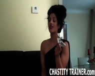 Your Cock Is Trapped In A Chastity Device And I Have The Key - scene 12