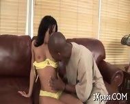 Ebony Man Bangs White Gal - scene 5