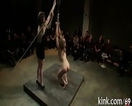 Thrashing A Naughty Slave - scene 11