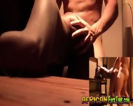 Amazing Black Girl Dicked By White Guy - scene 7