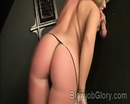 Beautiful Ashley Sweet Confess Sucking A Huge Piece Thru Glory Hole - scene 1