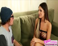 Beautiful And Sexy August Ames Fixes Tyler Nixons Boner Problem - scene 2
