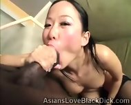 Petite Asian Gets Her Little Coochie Destroyed By Brotha - scene 12
