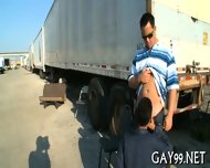 Interracial Gay In Doggie - scene 3