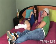 Teen Slut Punished By Tutor - scene 1