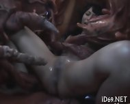 Rough And Explicit Group Pleasuring - scene 10
