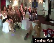 Blonde Party Girl Sucks Black Cfnm Stripper - scene 12