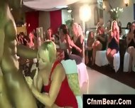 Blonde Party Girl Sucks Black Cfnm Stripper - scene 2