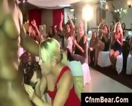 Blonde Party Girl Sucks Black Cfnm Stripper - scene 3