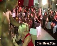 Blonde Party Girl Sucks Black Cfnm Stripper - scene 5