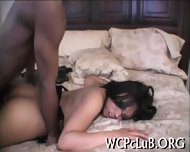Ebony Pal Bangs White Gal - scene 11
