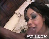 Ebony Pal Bangs White Gal - scene 12