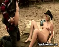 Naughty Grandpa Fucks Rodeo Girl - scene 1