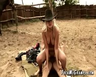Naughty Grandpa Fucks Rodeo Girl - scene 5