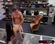 Hot College Student Wants To Sell An Old Book Gets Fucked In The Shop - scene 9