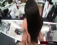 Hot College Student Wants To Sell An Old Book Gets Fucked In The Shop - scene 10