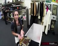 Hot College Student Wants To Sell An Old Book Gets Fucked In The Shop - scene 2