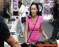Real Teen Pawnshop Indian Amateur Facialized - scene 2