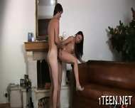 Hot Threesome With Teen - scene 3