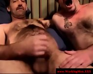 Real Straight Amateur Bear Gets A Facial - scene 9