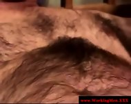 Real Straight Amateur Bear Gets A Facial - scene 11
