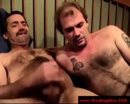 Real Straight Amateur Bear Gets A Facial - scene 12