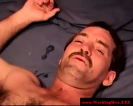 Real Straight Amateur Bear Gets A Facial - scene 4
