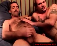 Real Straight Amateur Bear Gets A Facial - scene 5