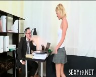 Cumshot Lesson From Old Teacher - scene 2
