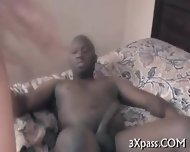Interracial Anal Banging - scene 9