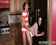 Mouth-watering Threesome - scene 4