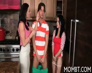 Mouth-watering Threesome - scene 6