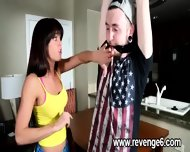 Lover Punished Her Naive Partner - scene 1
