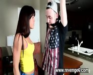 Lover Punished Her Naive Partner - scene 2