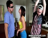 Lover Punished Her Naive Partner - scene 4