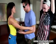 Lover Punished Her Naive Partner - scene 5