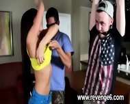 Lover Punished Her Naive Partner - scene 6
