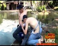 Gay Latin Dudes Fuck Bareback Style - scene 4