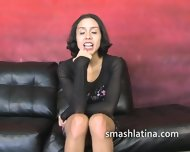 Petite Latina Mouth Fucked By Cock - scene 3