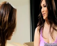 Glamour Babes Alina And Holly Fucking Each Other With A Dildo - scene 3