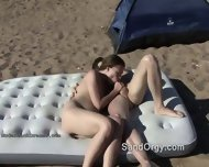 Crazy Swingers Fuck Right On Beach - scene 6