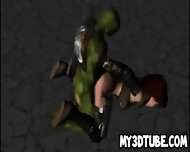 3d Cartoon Babe Getting Fucked By A Ninja Turtle - scene 5
