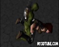 3d Cartoon Babe Getting Fucked By A Ninja Turtle - scene 6