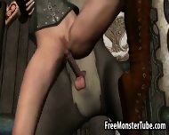 3d Red Riding Hood Get Fucked By The Big Bad Wolf - scene 9