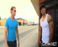 Hot Interracial Gay Sex - scene 1