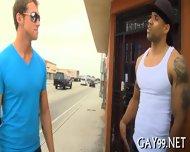 Hot Interracial Gay Sex - scene 3