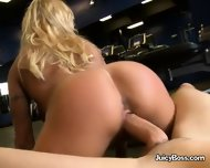 Boss Lady Gina West Sucks And Fucks Her Employee - scene 3