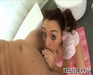 Succumbing To Beautys Blowjob - scene 5
