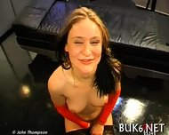 Savoring Ejected Warm Jizz - scene 2